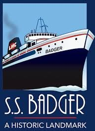 S.S. Badger Lake Michigan Carferry Service
